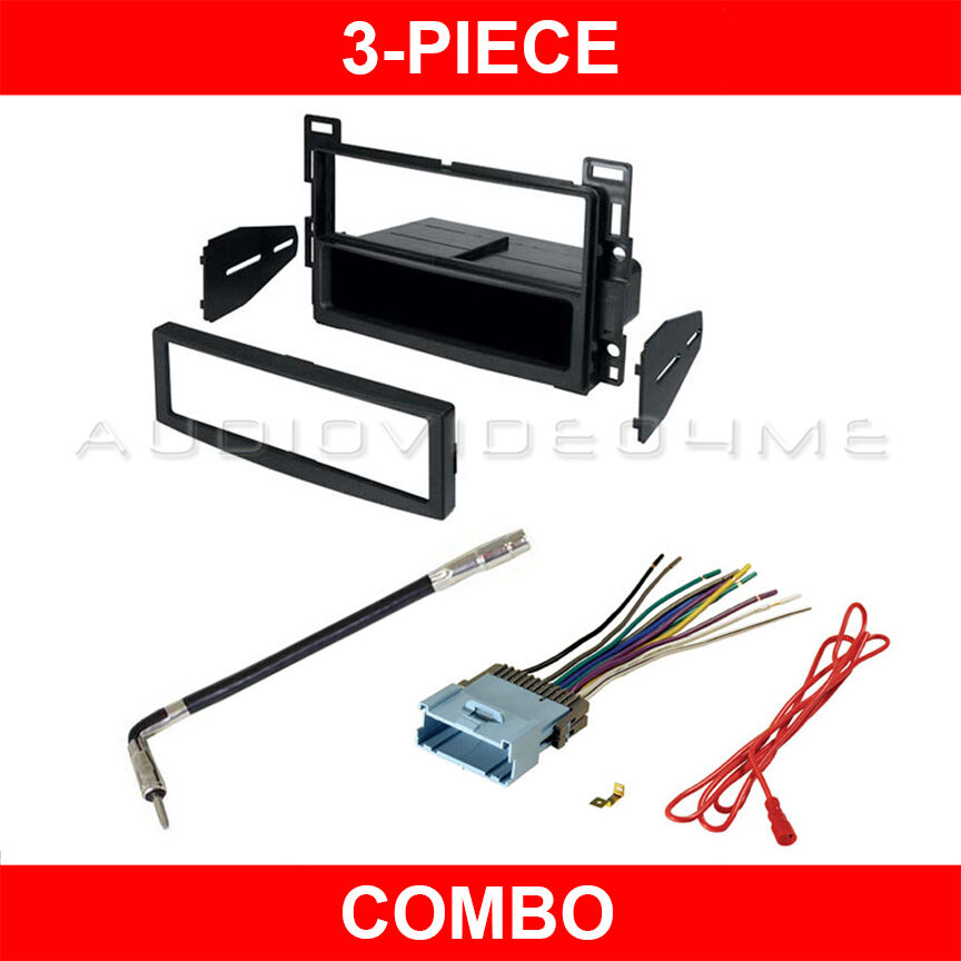 Stereo Wiring Harness 2002 Chevy Malibu : Chevy malibu maxx car stereo cd player radio dash kit
