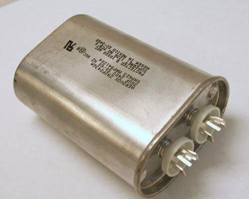 New aerovox 35uf 240vac motor run capacitor hvac for Electric motor capacitor replacement