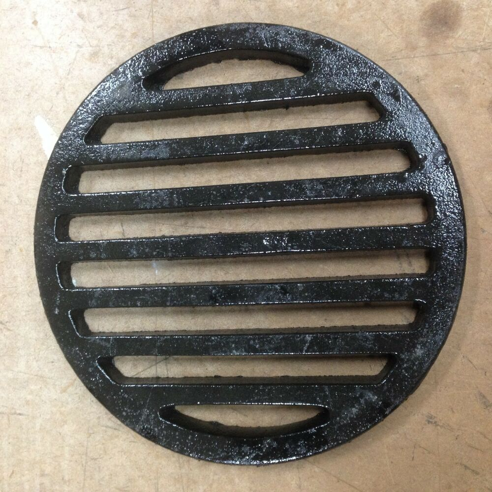 12 Quot Round Cast Iron Bar Floor Drain Strainer Ebay