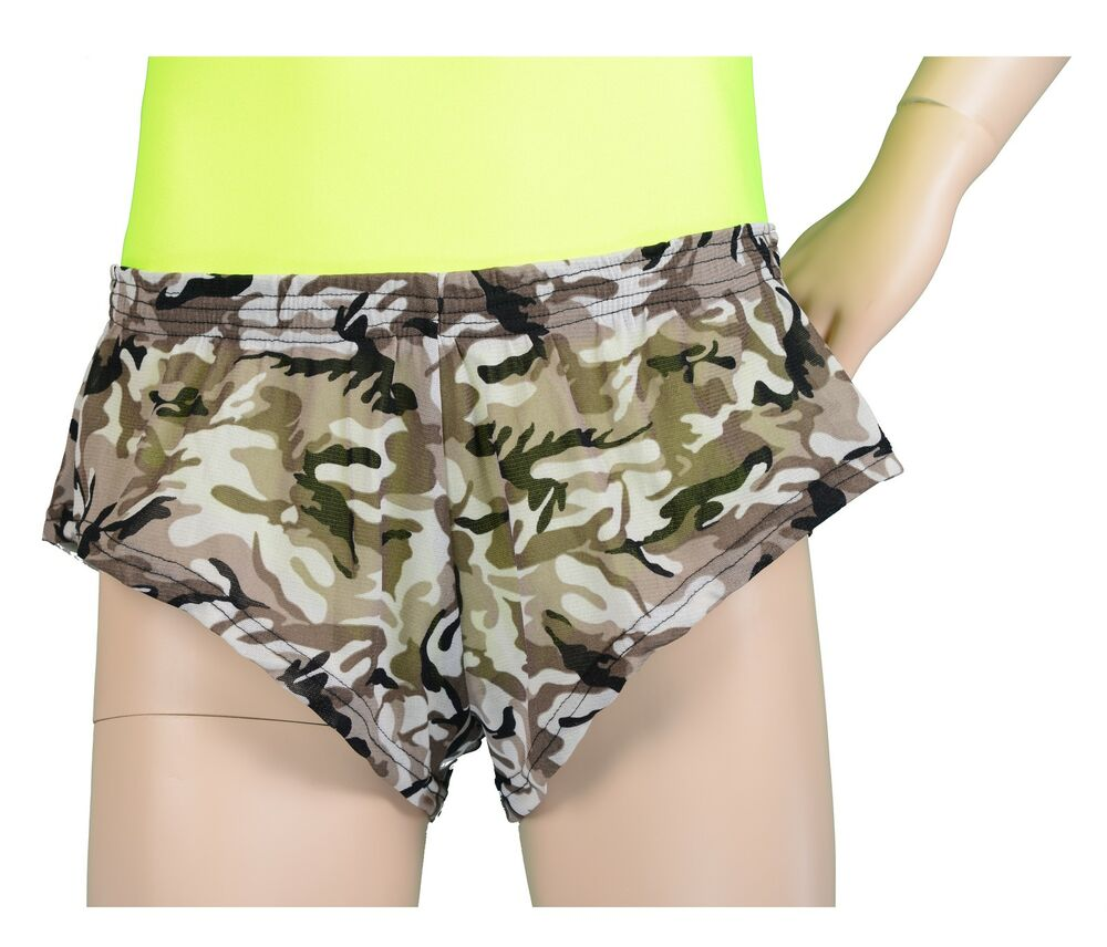 This 4-way stretch camo running shorts is ultra comfortable and allows for complete freedom of movement. The moisture wicking fabric draws sweat & perspiration away leaving you dry and.