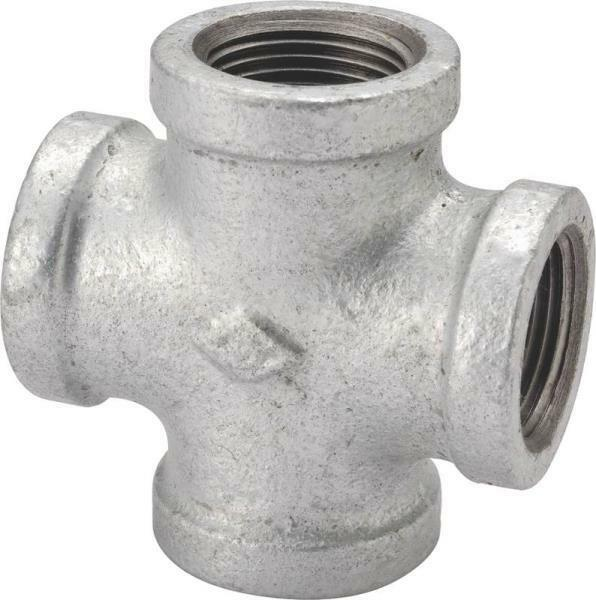 New lot quot galvanized pipe thread threaded way