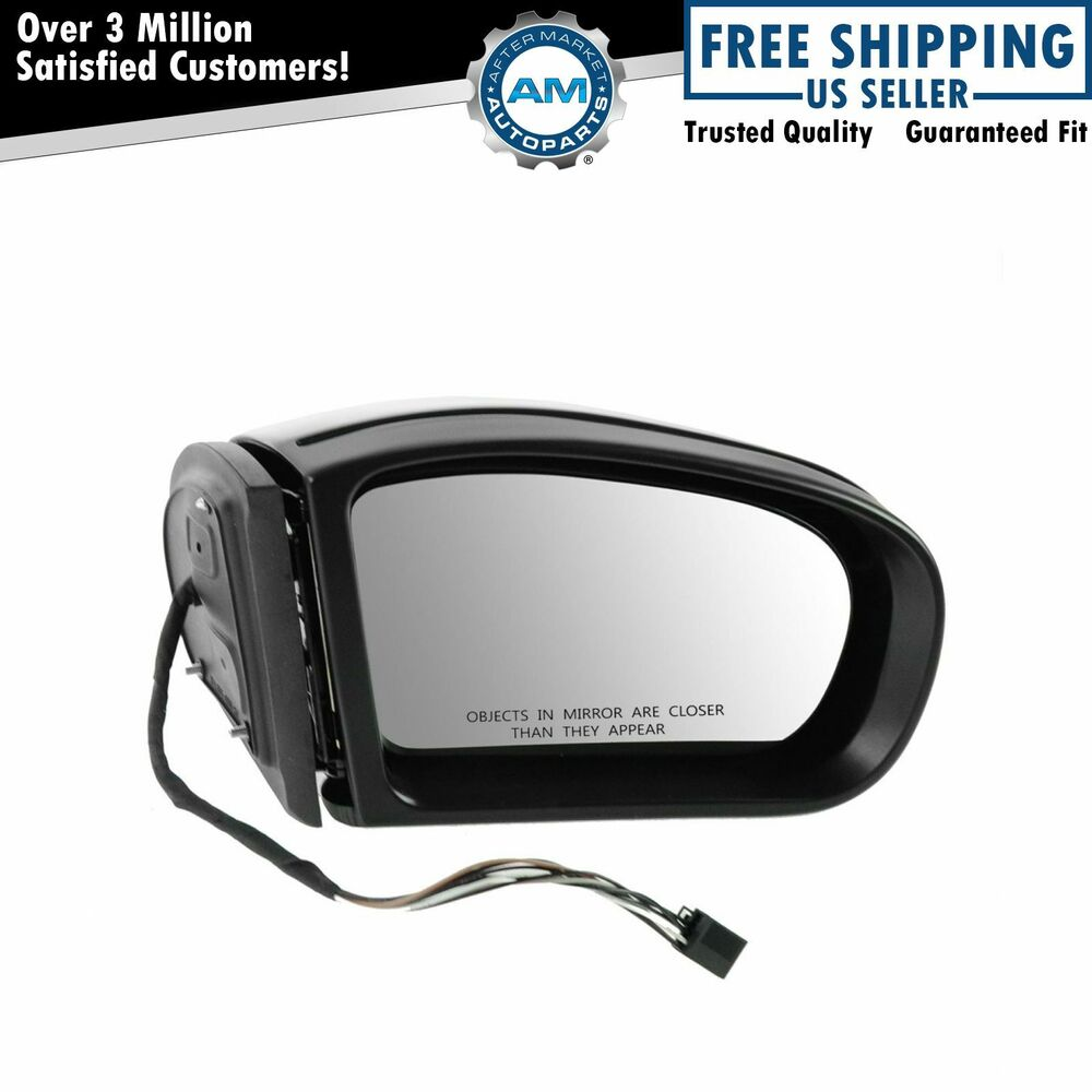 Mirror power heated turn signal passenger side right rh for Mercedes benz side mirror turn signal