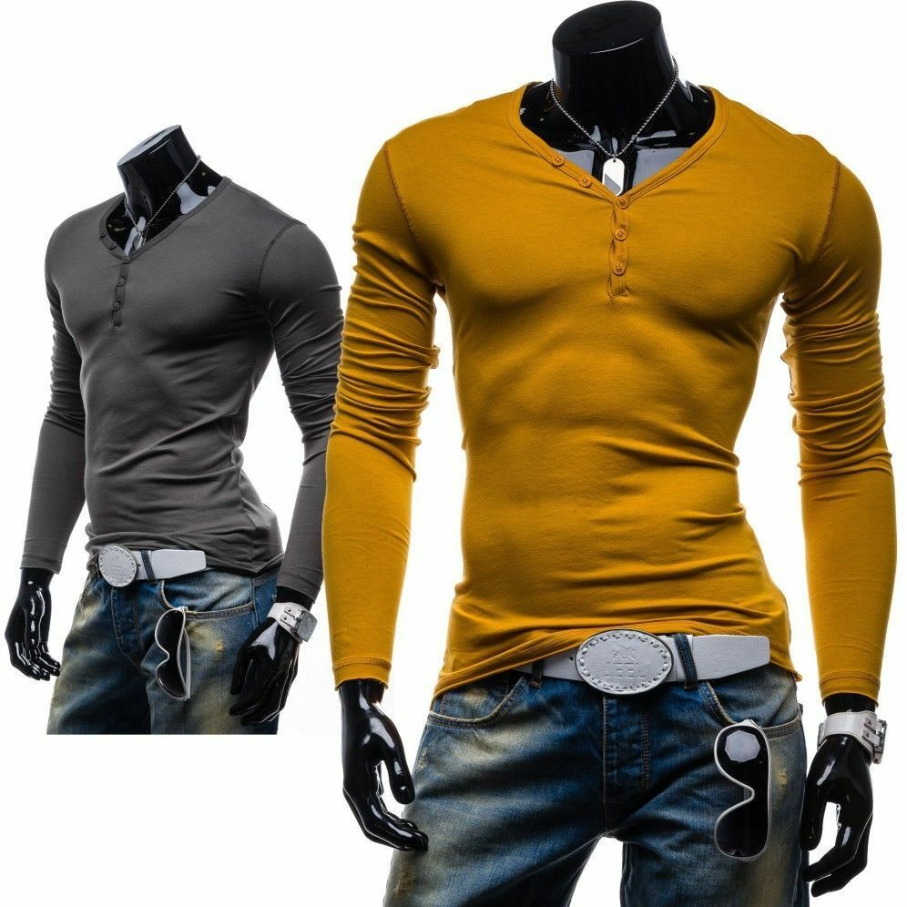 Bolf stegol 545 longsleeve herren langarm men sweatshirt for Tahari t shirt mens
