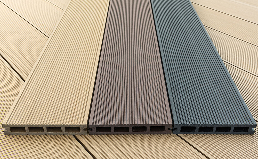 Wpc wood plastic composite decking board 150 x 25mm for Composite decking sale