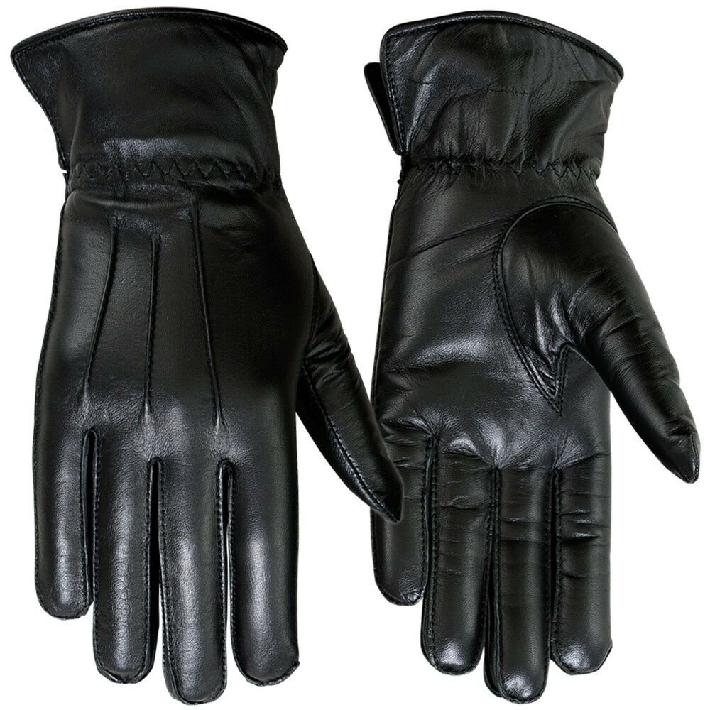 Ladies Dress Gloves Genuine Leather Soft Thermal Lined ...