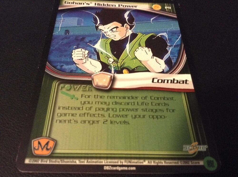 Dragon Ball Z CCG Gohans Hidden Power P9!! Babidi Saga ...