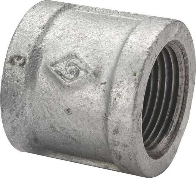 4 In Duct Fittings : New lot  inch galvanized pipe threaded coupling