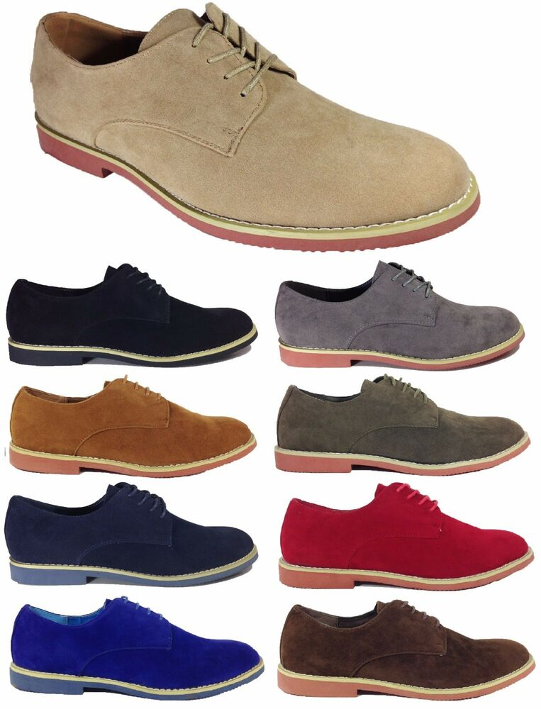 Dress Shoes Derby Suede