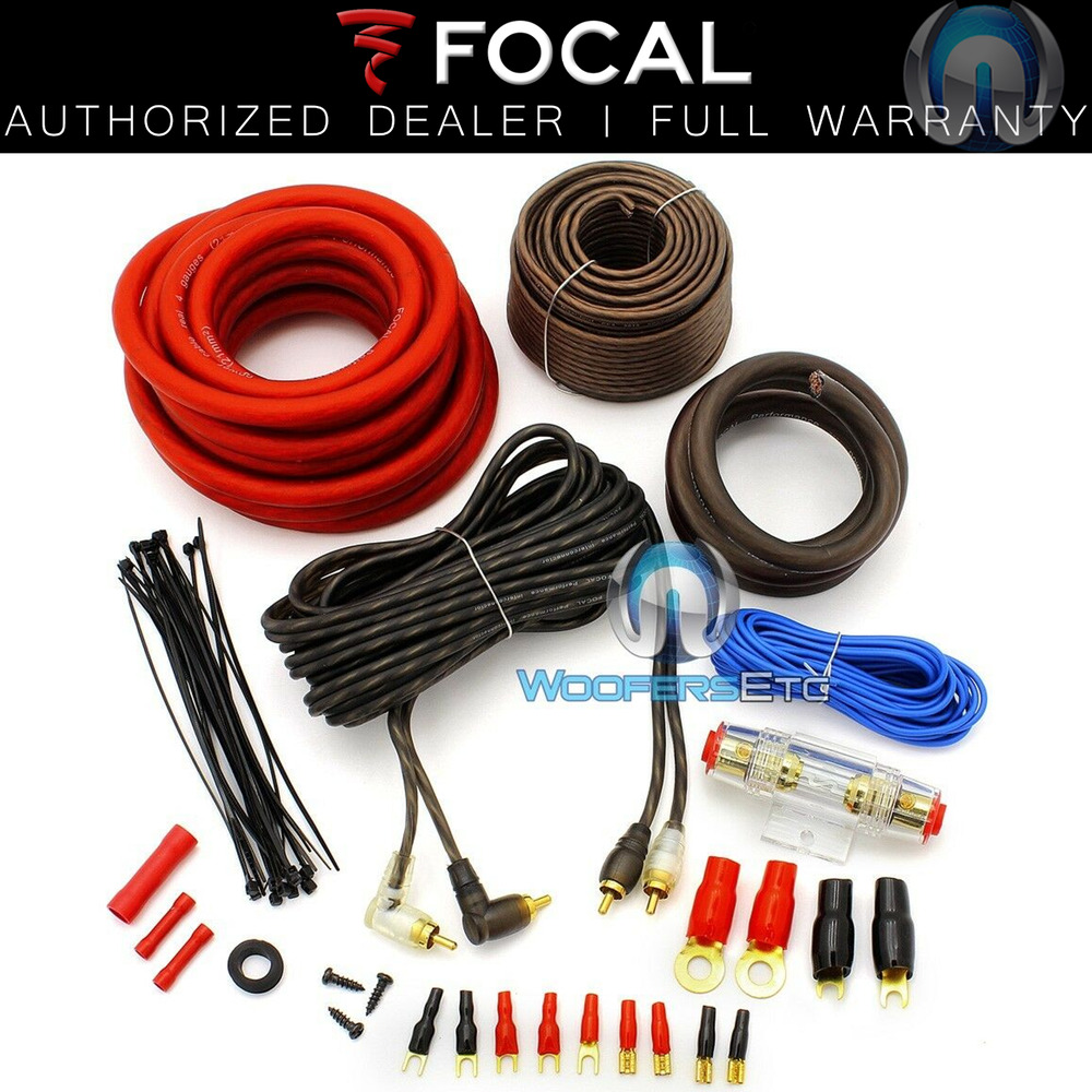 car audio installation wiring kits focal pk21 4 gauge performance complete car speaker ... car audio installation wiring