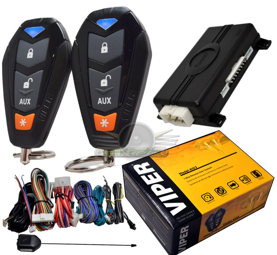 viper 4105 remote start and keyless entry 2000ft range 4