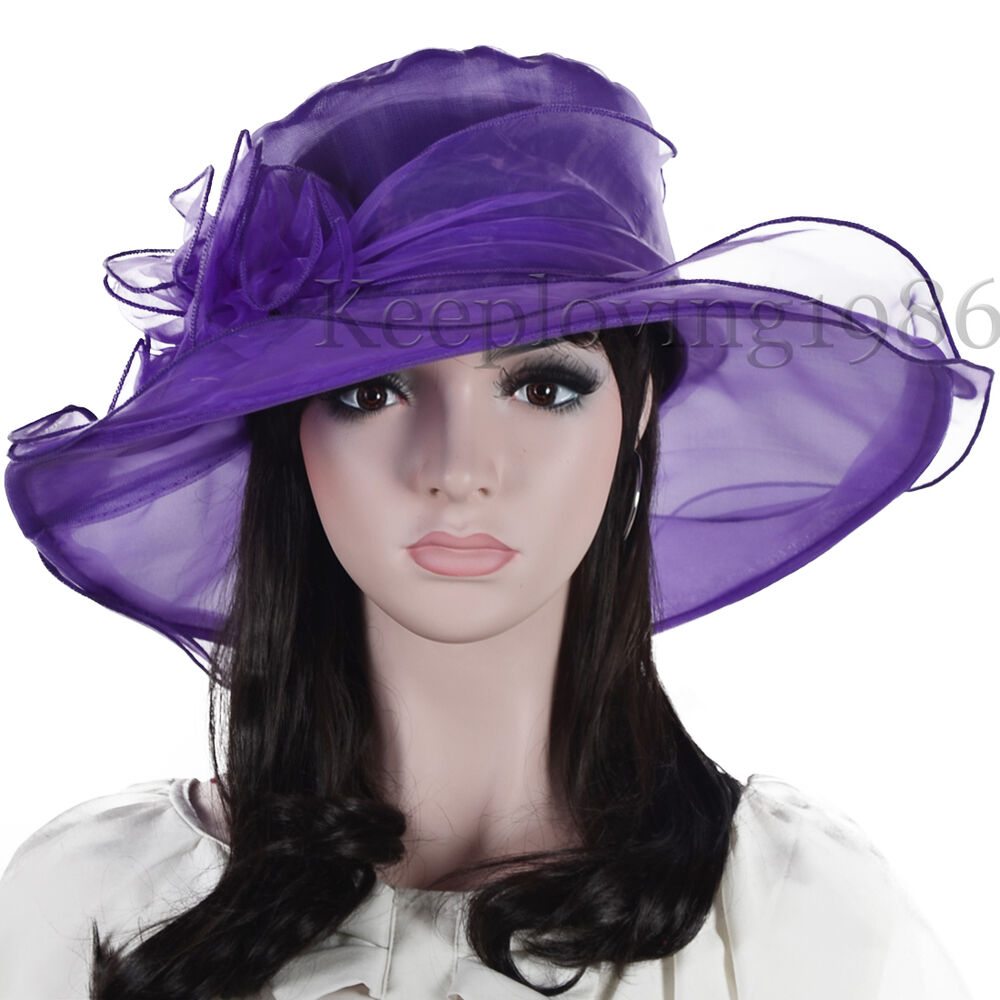 Lady oaks derby church hat wedding dress hat wide brim hat for Dress hats for weddings