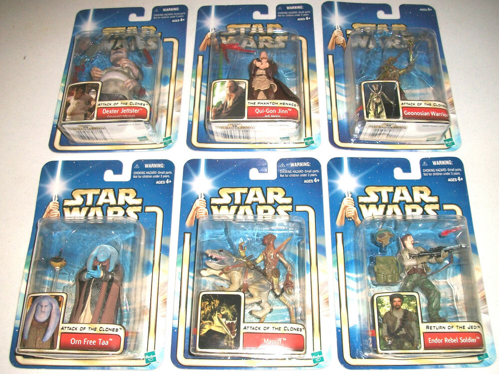 The Phantom Menace Toys : Star wars lot figures new clones jedi phantom menace