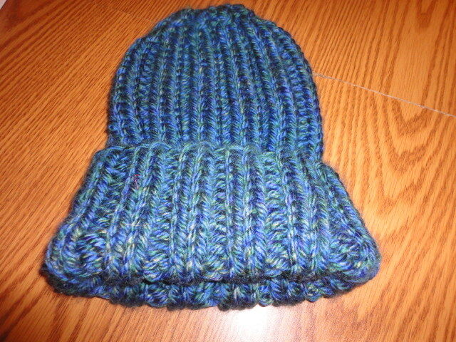 Pattern for super easy knitted hat - bulky yarn = speedy knitting eBay