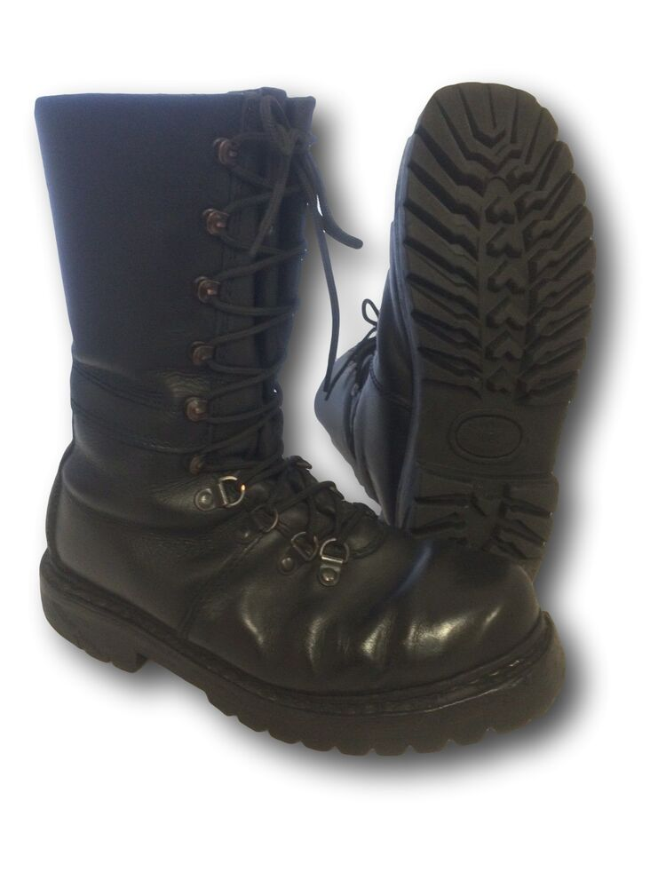 German Austrian Half Lined Vintage Paratrooper Boot