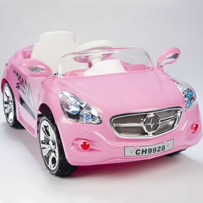 12v ride on car kids rc car remote control electric battery power w radio mp3 ebay