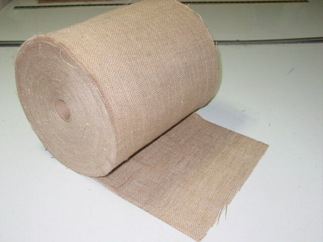 12 Inch Wide 50 Yard Roll 10 Oz Jute Burlap Wholesale