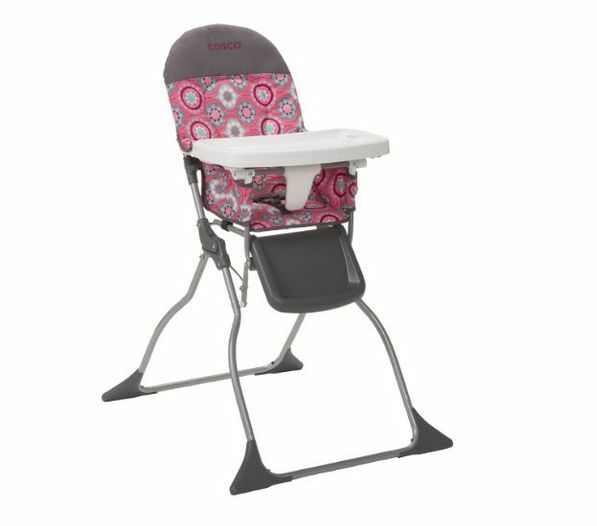 new baby booster cosco slim fold high chair toddler