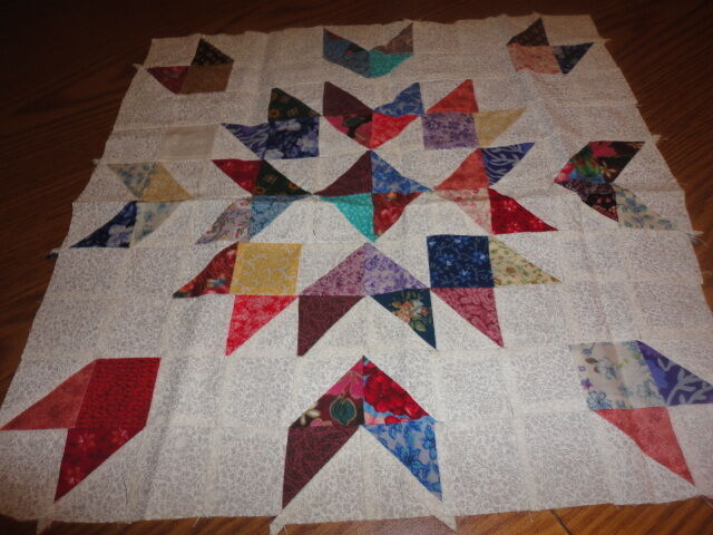 Plastic quilt template - Indian Patch eBay