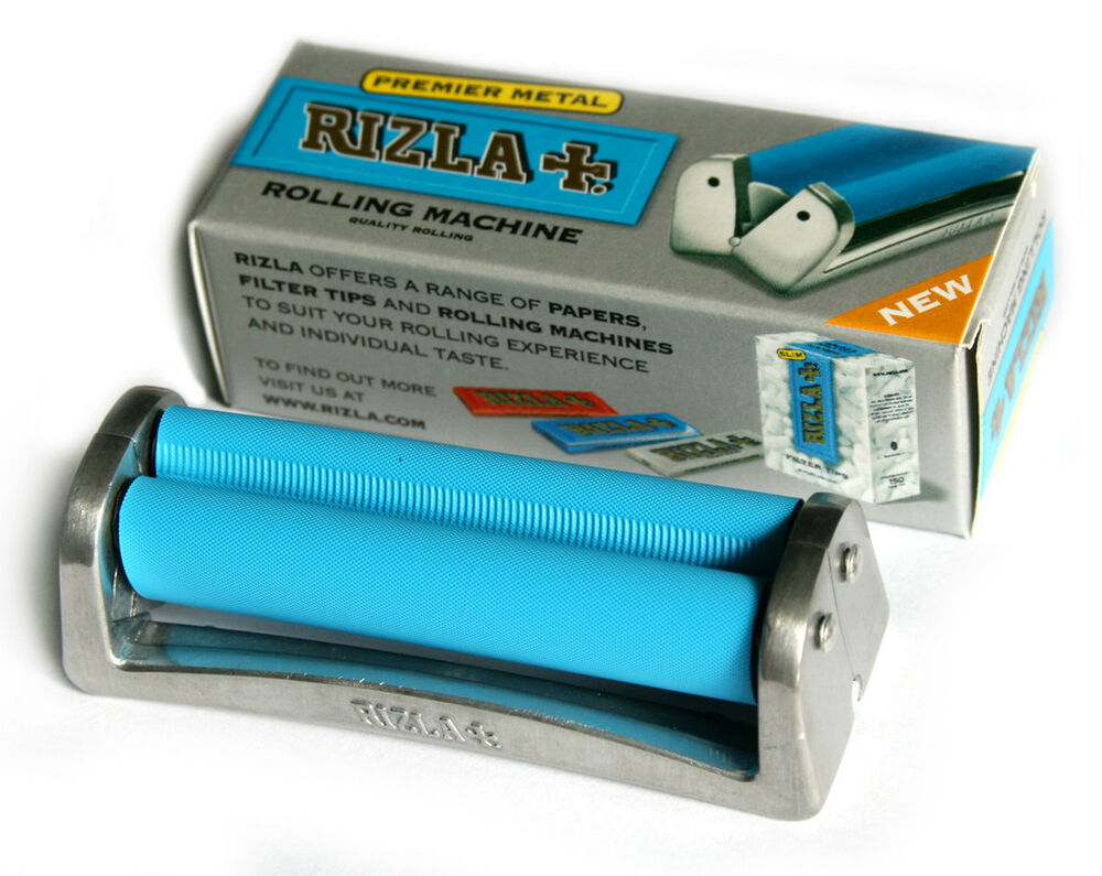 RIZLA Regular METAL cigarette Roller / Rolling Machine ...