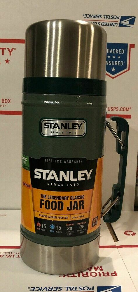 Stanley Classic Wide Mouth 24 Oz Stainless Bottle