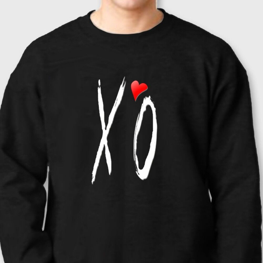 xo the weeknd hiphop t shirt ovoxo crew