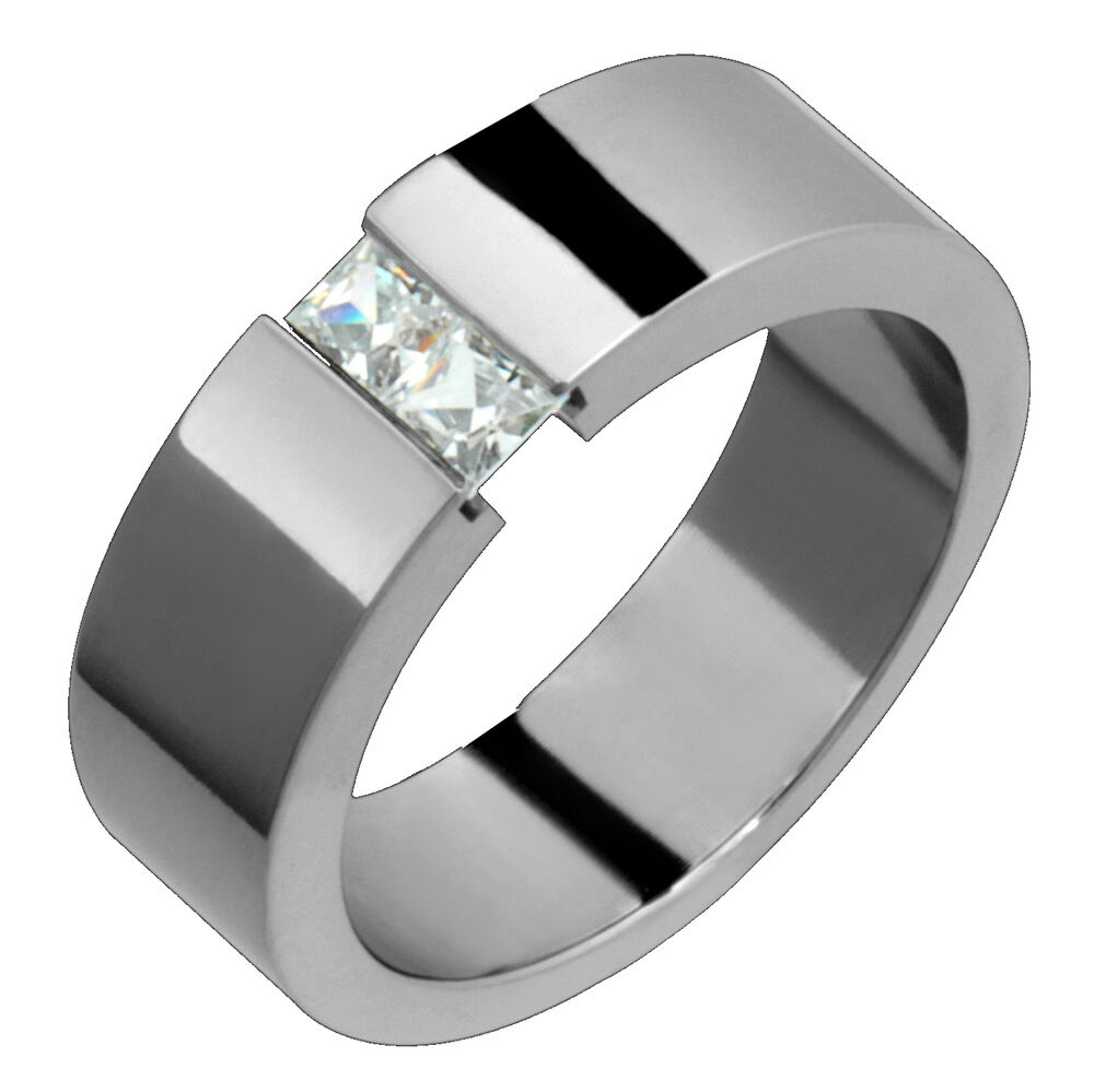 Womens Titanium Engagement Rings