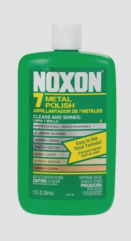 Noxon 7 Metal Polish Cleaner For Stainless Aluminum Chrome