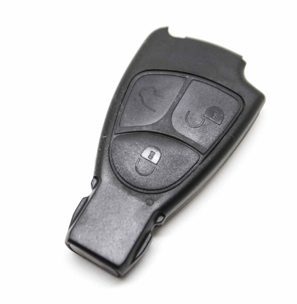 Fits mercedes benz c e ml s clk class 3 button remote key for Replacement key for mercedes benz