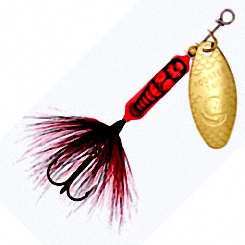 New rooster tail crawdad spinner fishing lures choice of for Rooster tail fishing lure