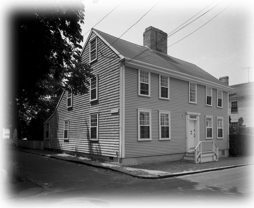 Colonial Saltbox House Plans Timber Frame And Brick