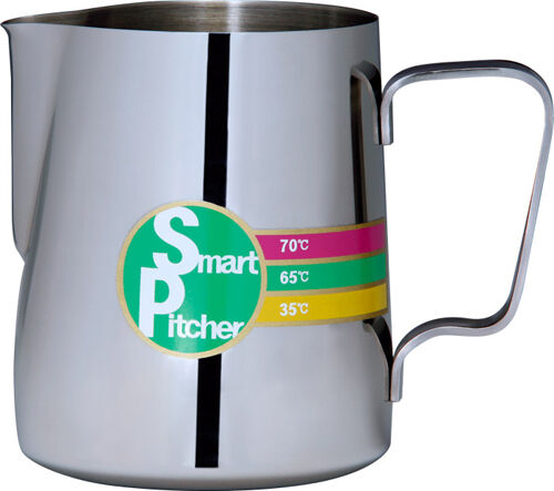 Smart Pitcher Stainless Milk Frothing Steaming Jug In