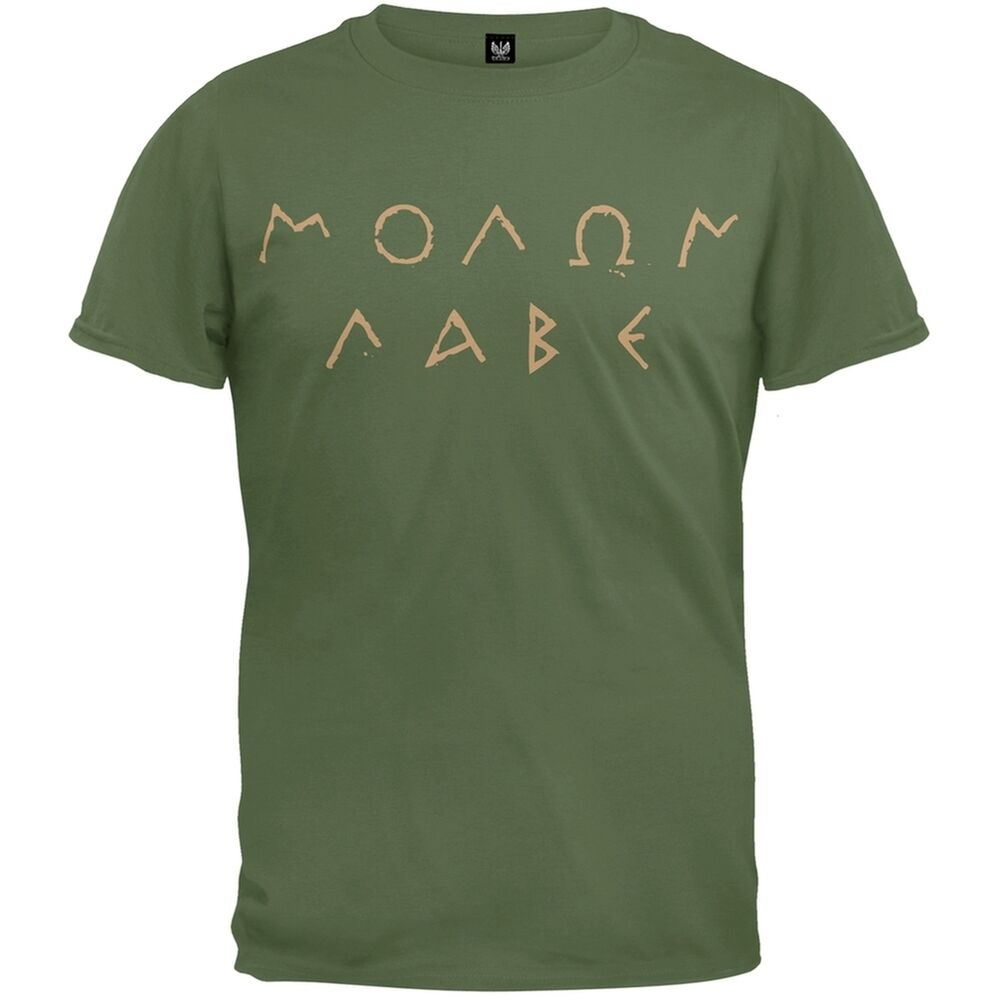 Molon labe ancient greek letters adult mens t shirt ebay for Where to buy greek letter shirts
