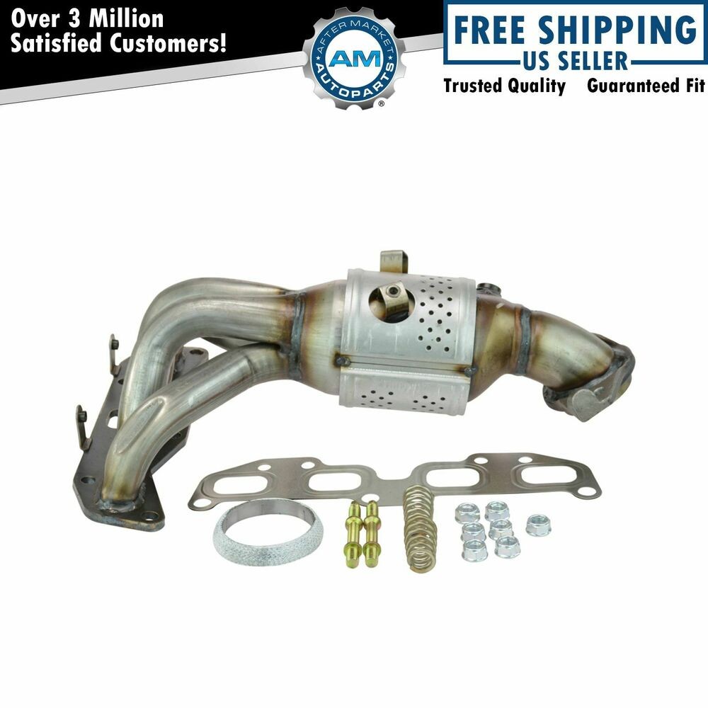 Exhaust Manifold W Catalytic Converter 2 5l For 02 06