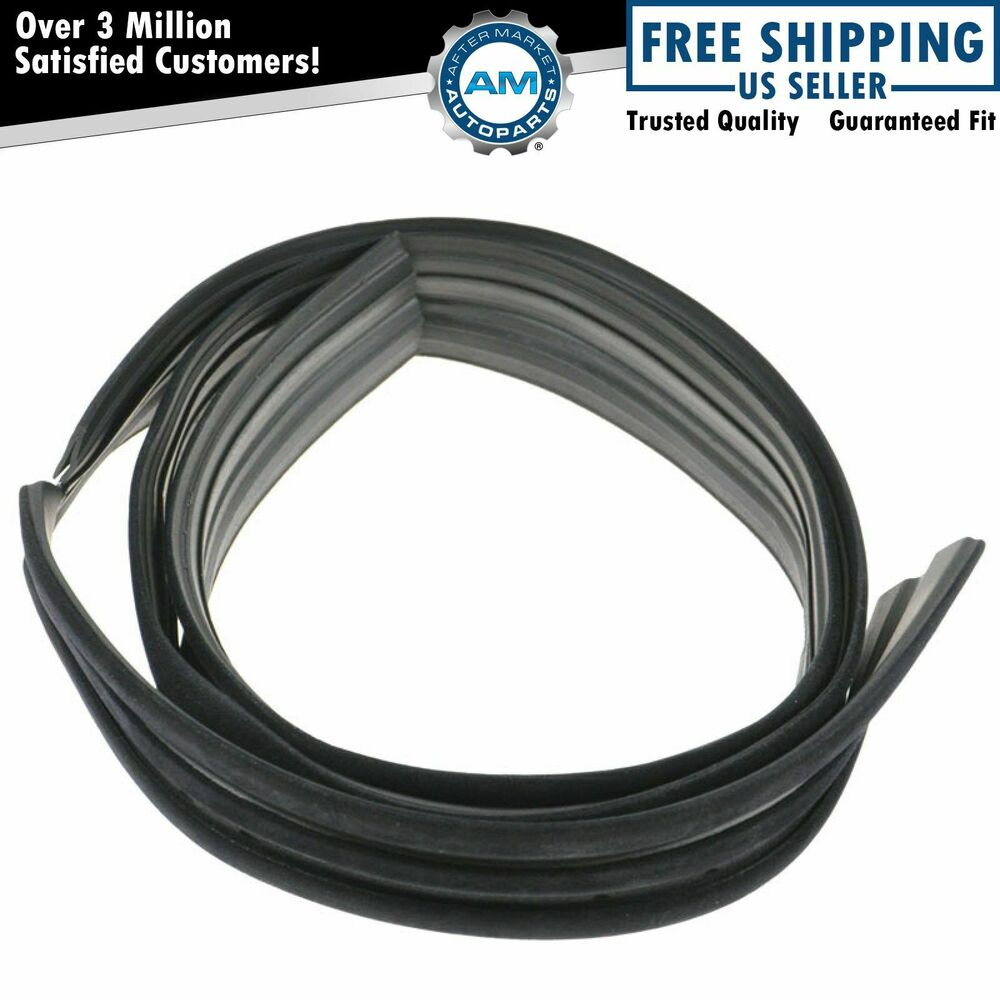 Window Rubber Seals For Autos : Window glass run channel seal rubber weatherstrip lh or rh