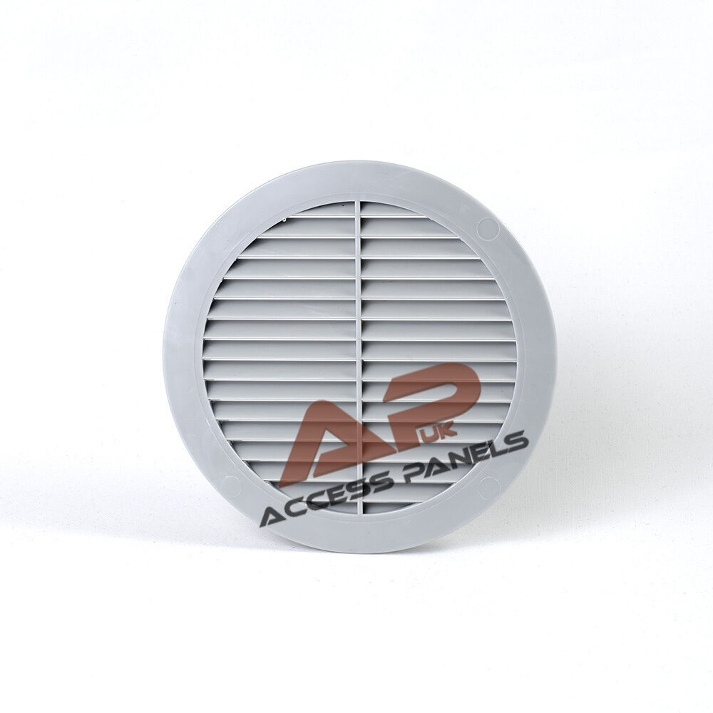 In Philippine Air Grille : Circle air vent grille cover light grey mm quot ducting