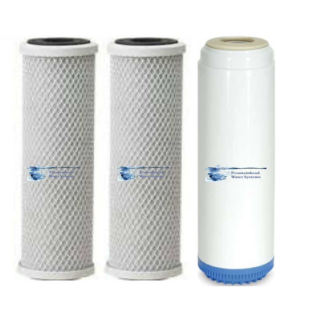... Arsenic Carbon Filters 1 Carbon/KDF55 Water Filter Standard | eBay