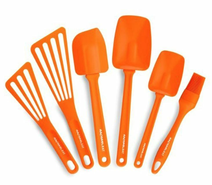 Kitchen Tools: New Rachael Ray 6 Piece Utensil Set Kitchen Cooking Tools