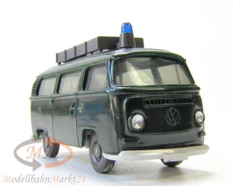 wiking 1030 5 a vw bus t2 polizei ungeteilte frontscheibe dachaufbau scale 1 87 ebay. Black Bedroom Furniture Sets. Home Design Ideas