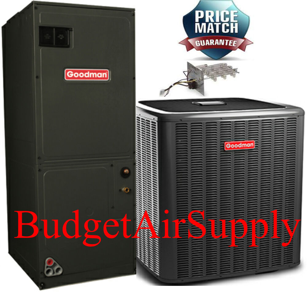 3 Ton 16 Seer Goodman 2 Stage Ultratech Heat Pump Variable