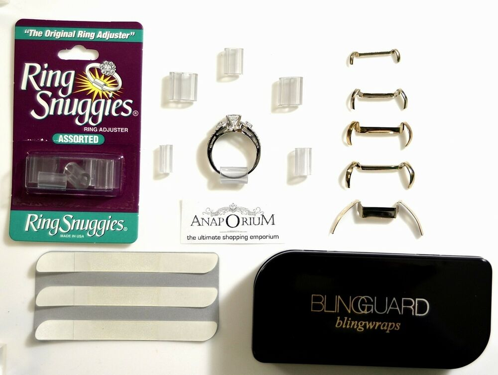 ONE STOP Size Adjuster 14kt Ring Guard Ring Snuggies Ring guard