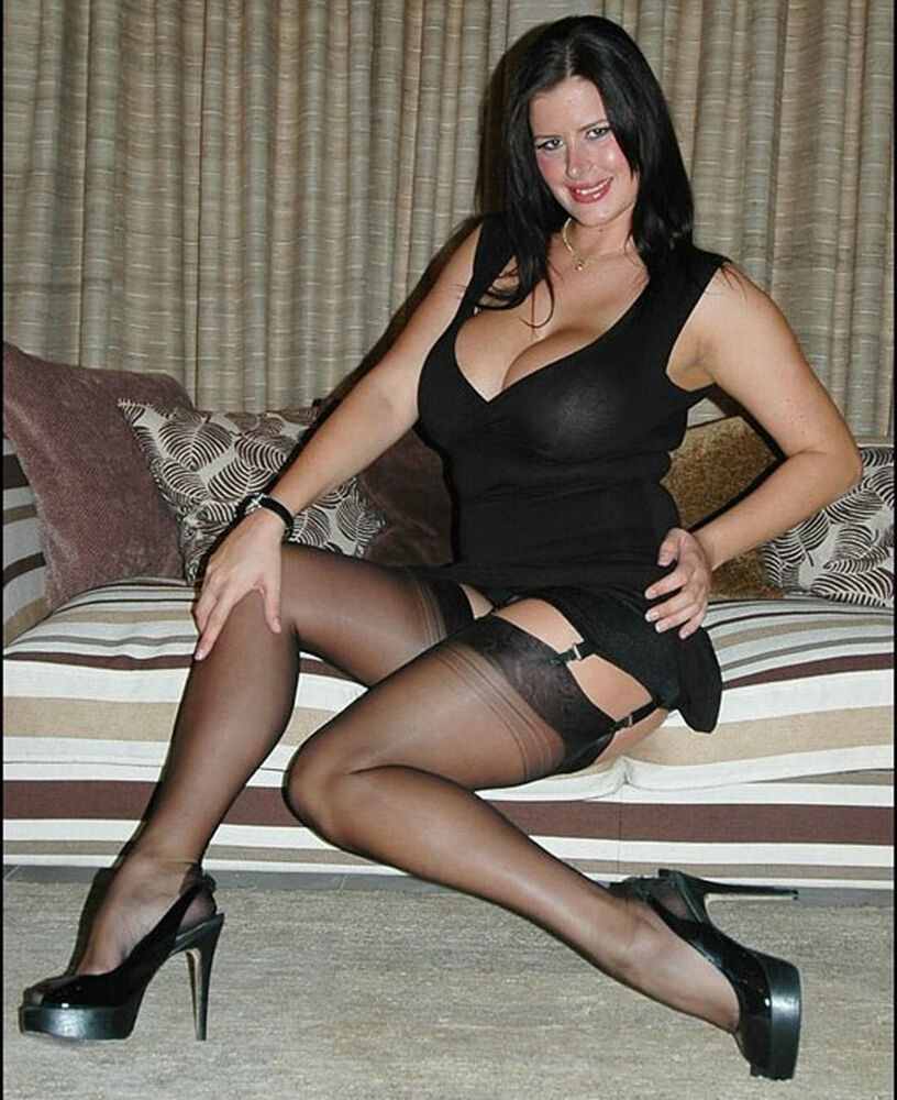 Stockings and heels com