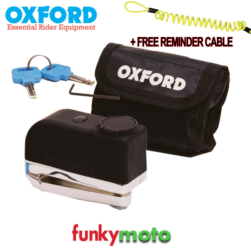 Oxford Motorcycle Security Products