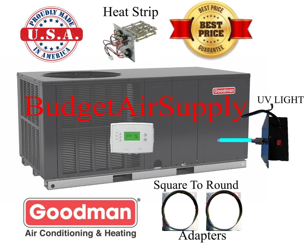 3 5 Ton 3 1 2 14 Seer Goodman Heat Pump Quot All In One Quot Package