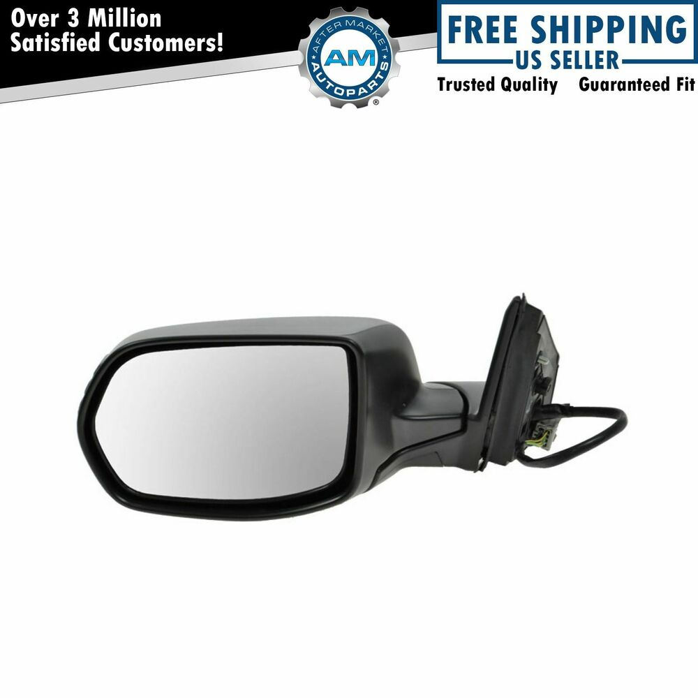 Folding Power Heated Side View Mirror Driver Left Lh For 07