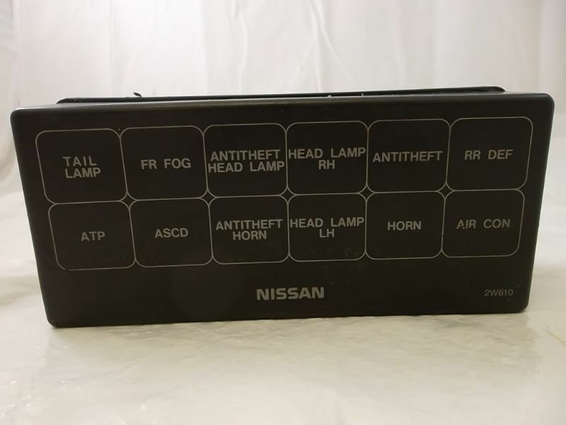 Fuse Box Cover Nissan Pathfinder 99 00 01 02 03 04 2004 2003 2002 2001
