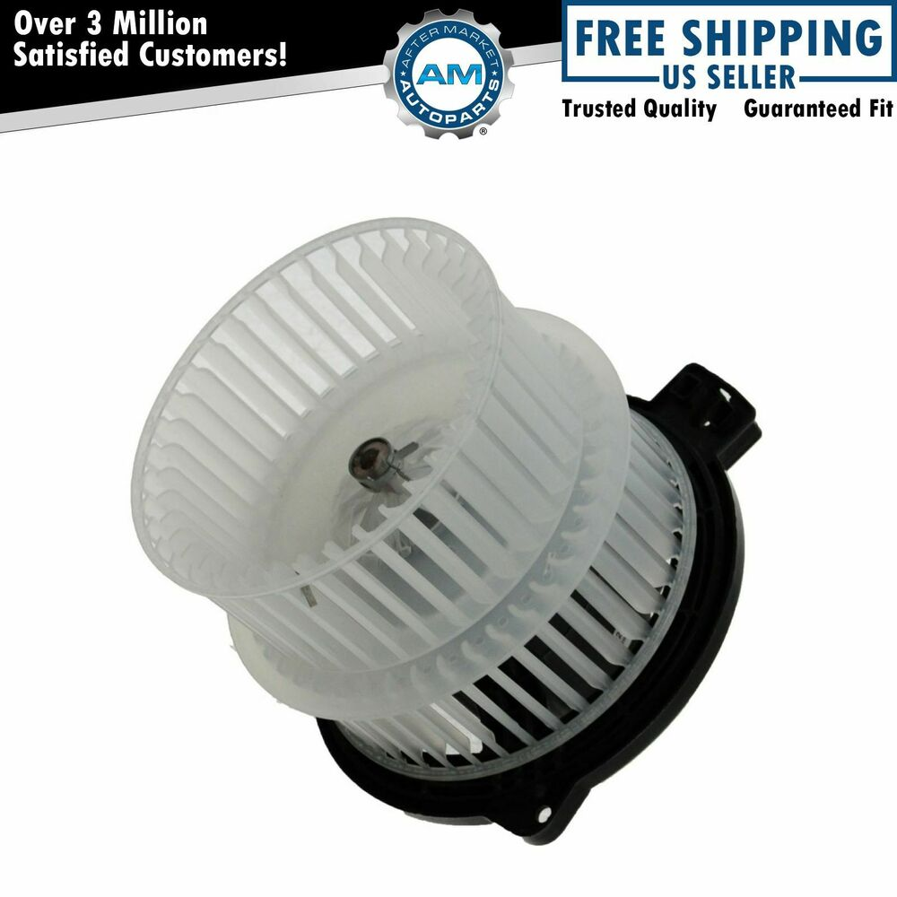 A c ac heater blower motor w dual cage for toyota scion for Home ac blower motor replacement cost