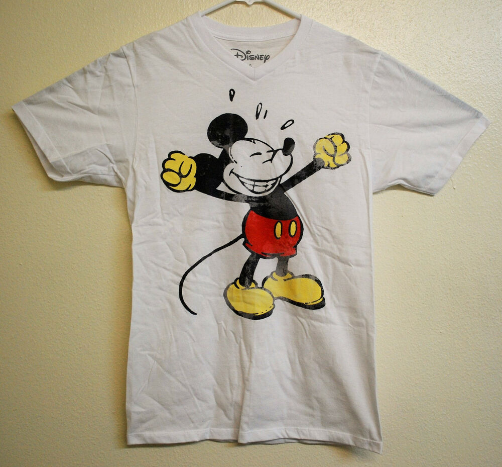 Disney Vintage Mickey Mouse Mens Womens T Shirt Size Large