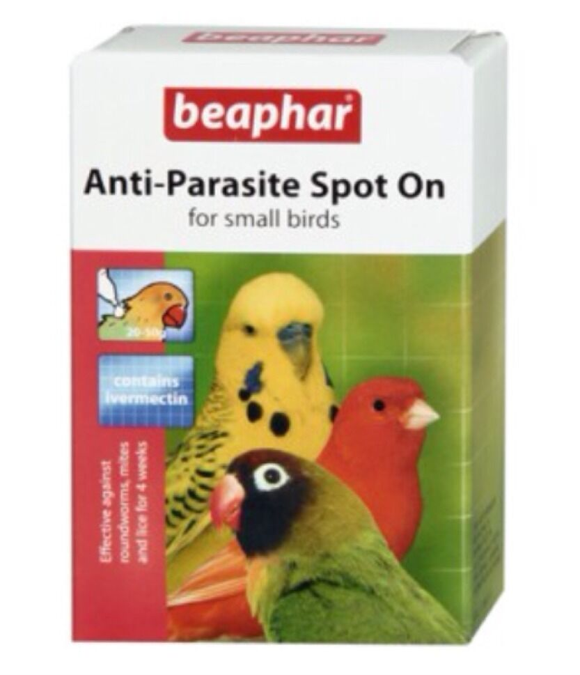 beaphar anti parasite spot on small cage aviary birds mites lice budgie canary ebay. Black Bedroom Furniture Sets. Home Design Ideas