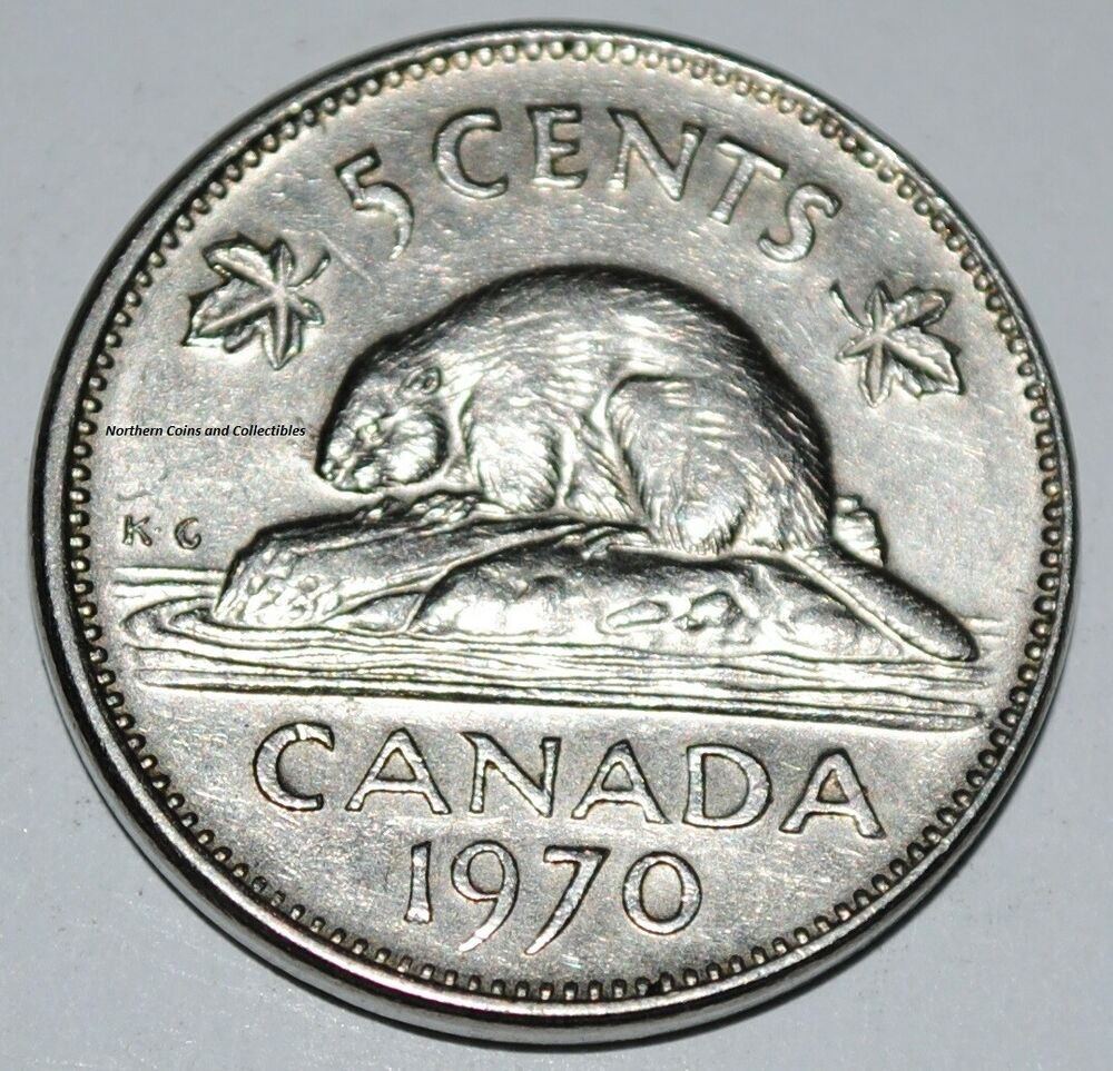 canada 1970 5 cents elizabeth ii canadian nickel five cent ebay. Black Bedroom Furniture Sets. Home Design Ideas