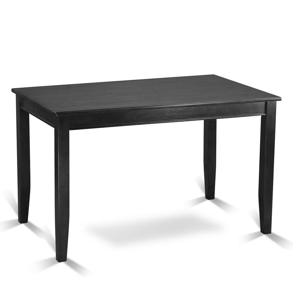 30x48 buckland counter height kitchen table without chair in black